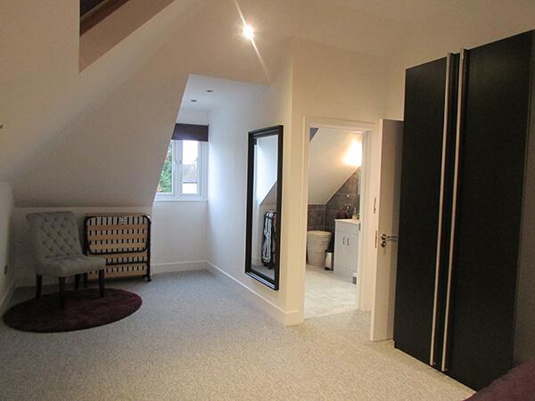 Loft with bathroom
